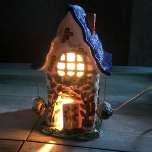 Lighted decorating house